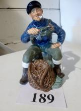 A Royal Doulton figurine: The Lobster man HN 2317 est: £50-£70 (O4)