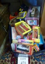 A large quantity of boxed model vehicles to include Matchbox, Lledo and Corgi est: £30-£50 (BF28)