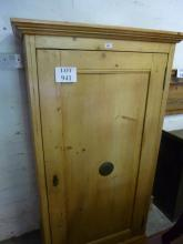 A 19c pine food cupboard est: £80-£140