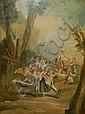 manner of Francois Boucher o/c