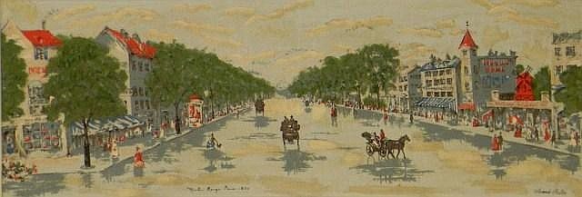 Armond Ruffet, Paris street scene