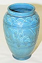 Rookwood Blue Pottery Vase
