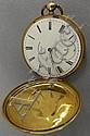Henry Beguelin gold pocket watch,18 kt. gold