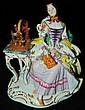 Meissen hand painted porcelain figurine