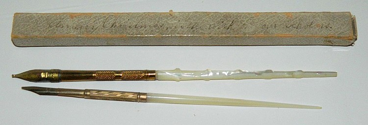 Mother of Pearl fountain pens