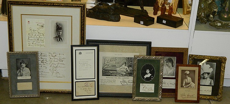 Grouping of Signed Royalty Memorabilia