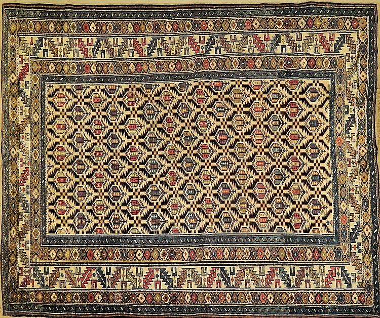 Handmade Caucasian area rug