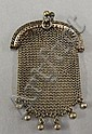 Victorian Sterling silver mesh coin purse