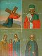 4 picture religious Ikon