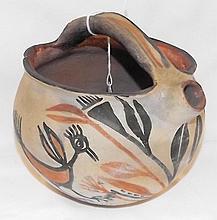Early Zuni Zia Pottery Water Jug