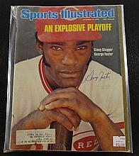 Sports Illustrated Autographed by George Foster