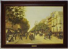 Framed Edmond Georges Grandjean Print