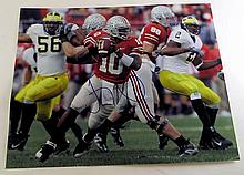 Autographed Troy Smith Ohio State Photograph