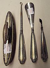 Group of Sterling Handled Desk Utensils