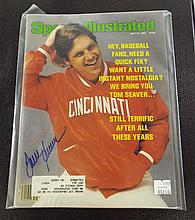 Sports Illustrated Autographed by Tom Seaver