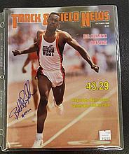Frack & Field News Autographed by Reynolds