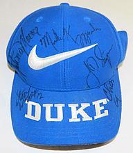 Autographed DUKE Baseball Cap