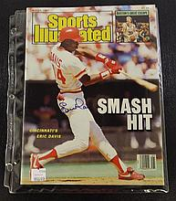 Sports Illustrated Autographed by Eric Davis