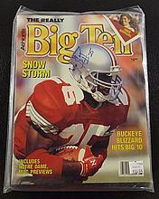 Big Ten Magazine Autographed by Snow