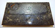 German Plaque Dated 1813