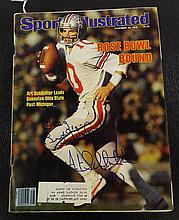 Sports Illustrated Autographed by Art Schlichter