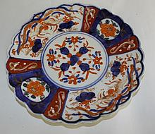 Polychrome Decorated Plate