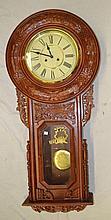 Regulator Clock in Ornate Case