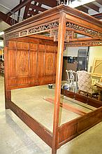 Oriental Canopy Bed