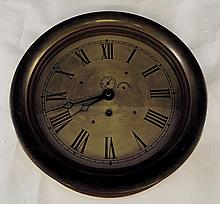 Early Brass Ship's Clock