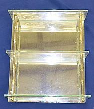Mirrored Back Shelf