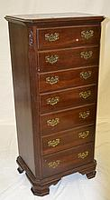 Mahogany Lingerie Chest with 7 Drawers