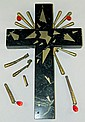 Signed Salvador Dali Crucifixion Sculpture