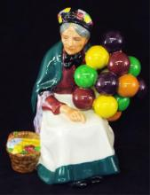 Royal Doulton Figurine, The Old Balloon Seller