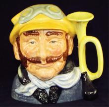 Royal Doulton Character Mug, Veteran Motorist