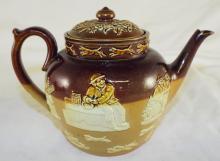 Doulton Lambeth England Tea Pot