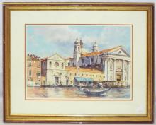 Robert Mal Gillis Venice Scene Print
