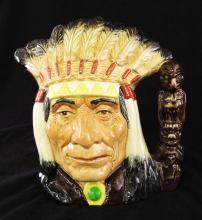 Royal Doulton Character Mug, North American Indian