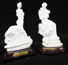 Two Capodimonte G. Armani Figurines