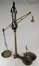 Metal Scale with Bowls and Weights