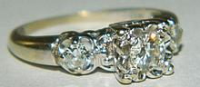 Diamond & 14K Gold Ring