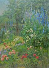 Kathrine L. Beard Oil on Board Landscape