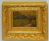 Oil on Board in Gilt Frame