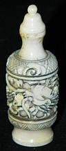 Ivory Carved Snuff Bottle