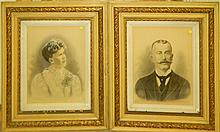 Pair of Portraits of Jacob & Martha Kettering