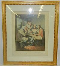 Thomas G Appleton Pencil Signed Mezzotint
