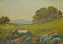 Fred H. Robertson Oil on Canvas Landscape