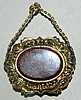10K Gold Locket with Goldstone