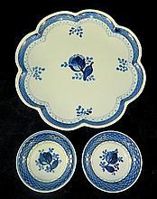 3 Denmark Pottery Plates
