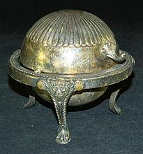 Miniature Silver Plate Covered Tureen
