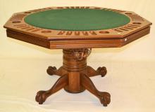 Pedestal Game Table